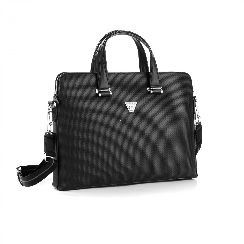 5ce7a4f32de59 Roncato Brave Torba na laptopa czarna Autoryzowany sklep Roncato
