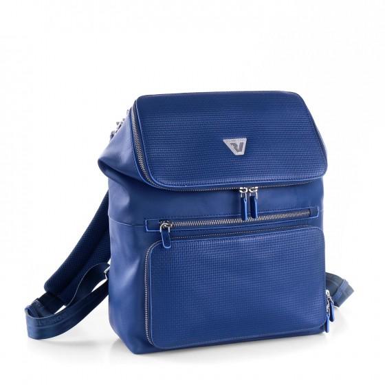 Roncato Brave Plecak damski miejski niebieski