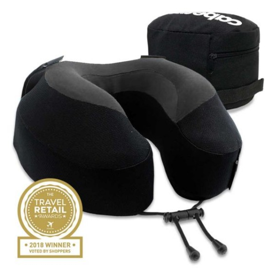 Cabeau Evolution S3 Poduszka podróżna termoplastyczna czarna