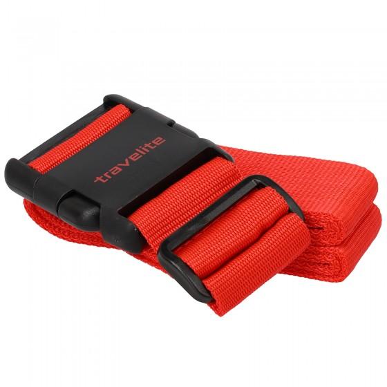 Travelite Accessories Pas do bagażu czerwony