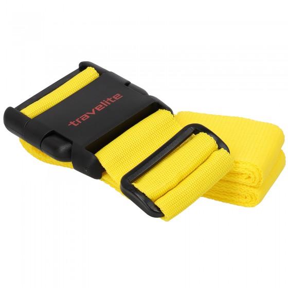 Travelite Accessories Pas do bagażu żółty