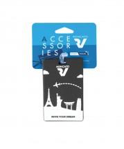 Roncato Accessories Identyfikator podróżny czarny
