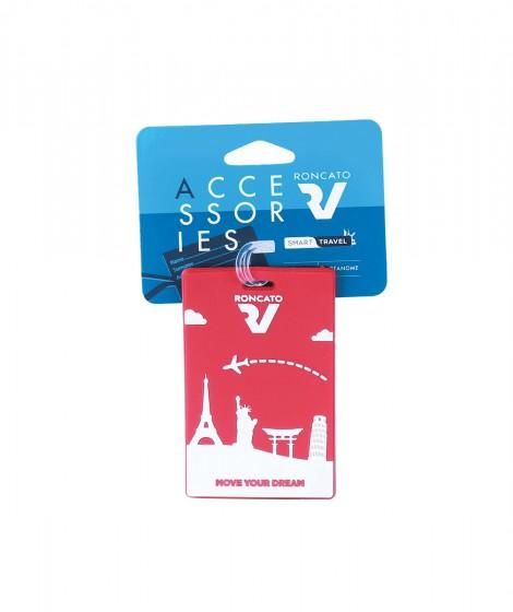 Roncato Accessories Identyfikator podróżny czerwony