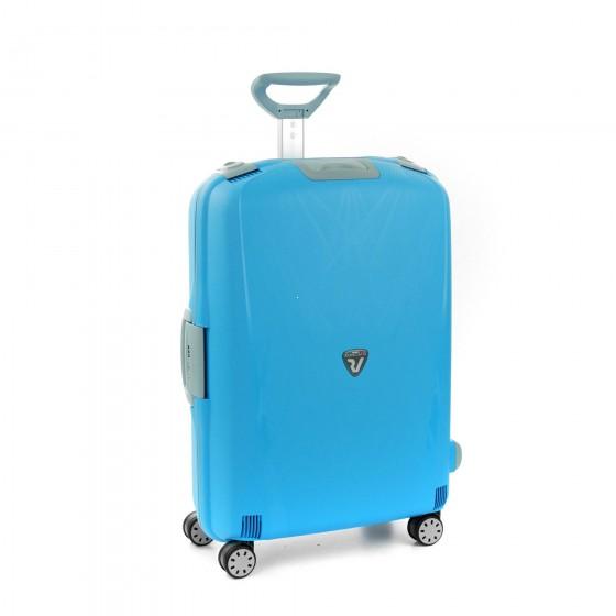 Roncato Light walizka duża błękitna