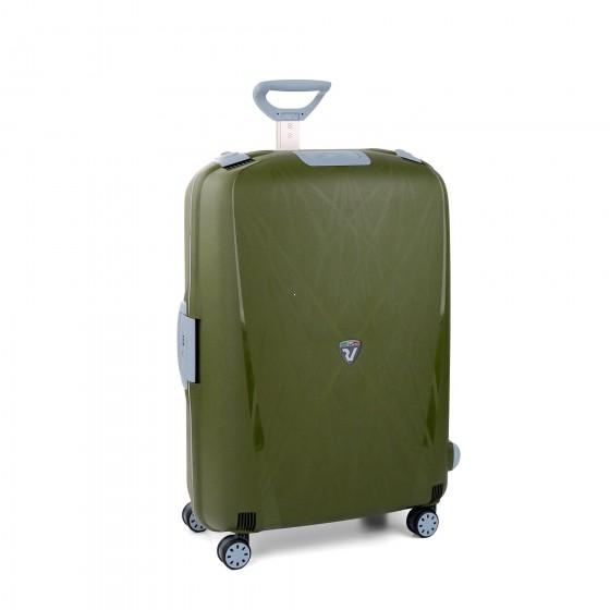 Roncato Light walizka duża zielona
