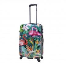 Saxoline Exotic Flamingo Walizka średnia