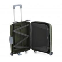 Roncato Light walizka mała kabinowa zielona