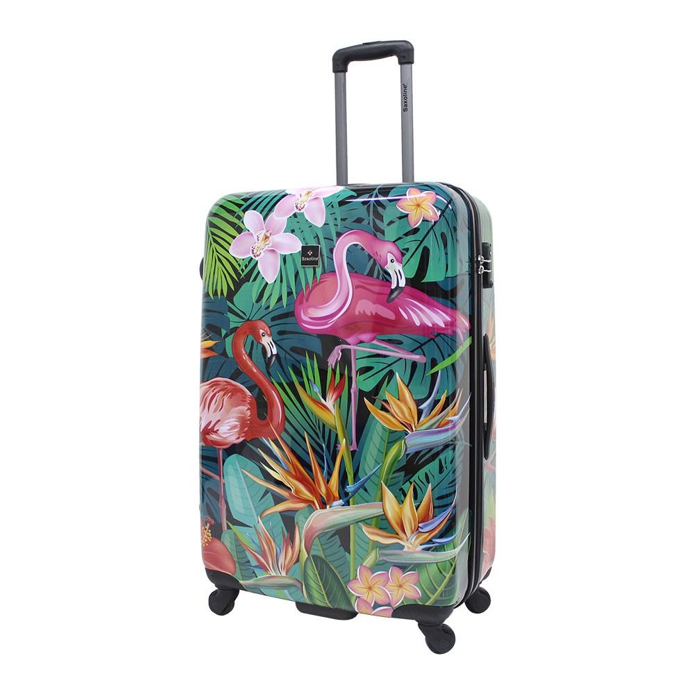 33a6b3244ac3f Saxoline Flamingo Walizka duża Walizki i torby podróżne, Bagaż ...