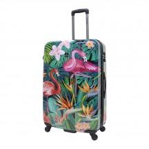 Saxoline Exotic Flamingo Walizka duża