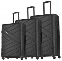 Travelite Bliss Komplet 3 walizek czarnych