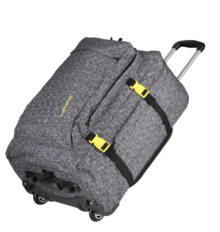 99089127813e8 Travelite Basics Torba podróżna na kółkach, Plecak antracytowy ...