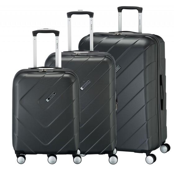 Travelite Kalisto Komplet 3 walizek antracytowych