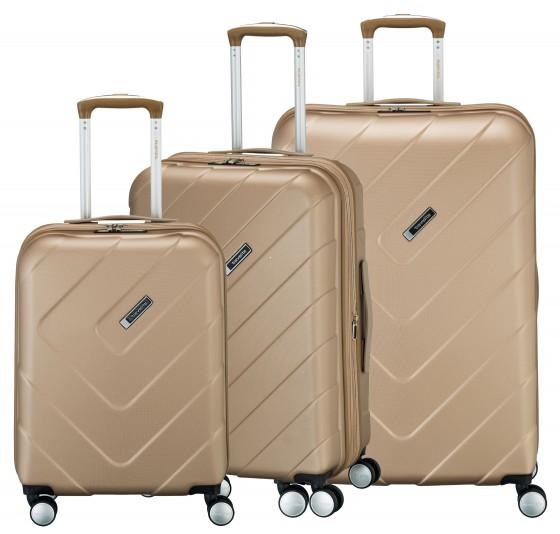 Travelite Kalisto Komplet 3 walizek szampańskich