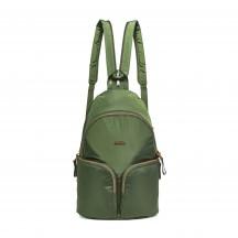 Pacsafe Stylesafe sling backpack Plecak damski zielony