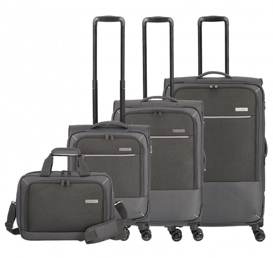 Travelite Arona Komplet Komplet 3 walizek antracytowych