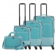 Travelite Arona Komplet Komplet 3 walizek turkusowych