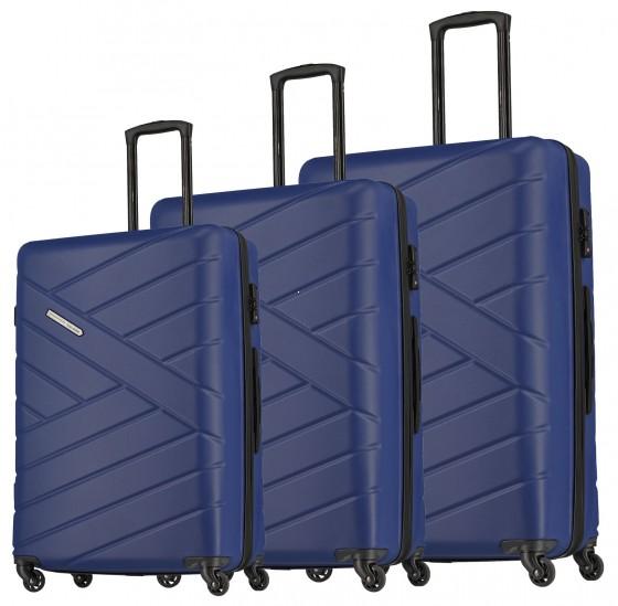 Travelite Bliss Komplet 3 walizek granatowych