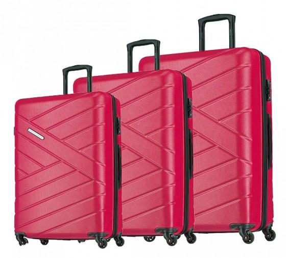 Travelite Bliss Komplet 3 walizek czerwonych