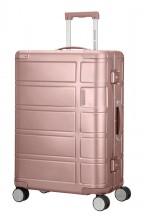 American Tourister Alumo Walizka średnia różowa