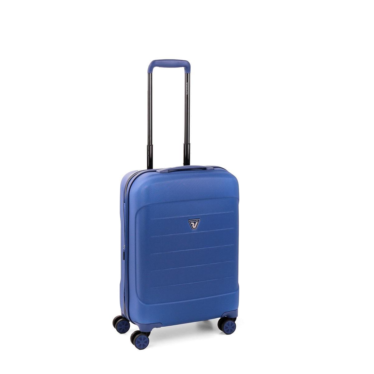 60897d018c014 Roncato FiberLight Walizka mała niebieska Autoryzowany sklep Roncato
