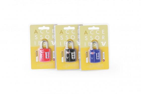 Roncato Accessories Kłódka na szyfr TSA - 1 sztuka - mix kolorów