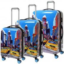 Komplet 3 walizek kolorowych ItLuggage Imprint