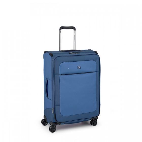 Roncato Miami Walizka średnia niebieska