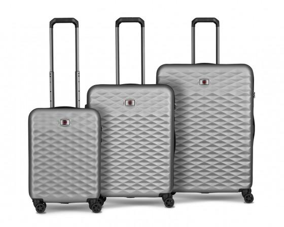 Wenger Lumen Komplet 3 walizek srebrny