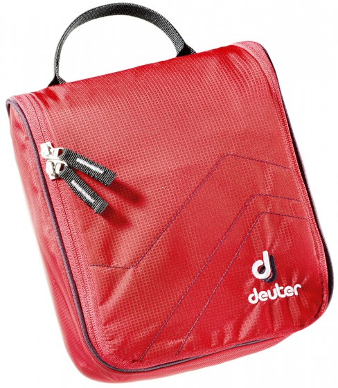 Deuter Wash Bags Kosmetyczka zawieszana czerwona