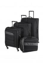 Travelite Kite Komplet 3 walizek czarnych