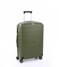 Roncato Box 4.0 Walizka średnia zielona