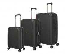 Titan Compax Komplet 3 walizek czarnych