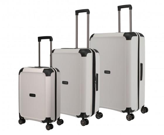 Titan Compax Komplet 3 walizek białych