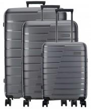 Travelite Air Base Zestaw 3 walizek antracytowych