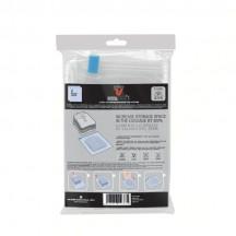 Roncato Accessories Pokrowce do pakowania, kompresji bagażu (2 sztuki) bezbarwne