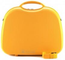 Wittchen Travel PP Kuferek podróżny kosmetyczka żółta