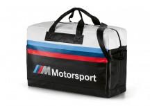 BMW MMotorsport Torba podręczna czarno-biała