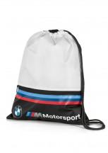BMW MMotorsport Worek sportowy czarno-biały