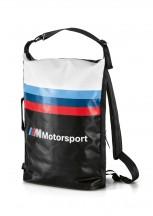 BMW MMotorsport Plecak miejski czarno-biały