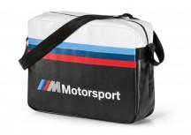 BMW MMotorsport Torba na ramię czarno-biała