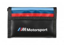 BMW MMotorsport Portfel męski czarno-biała