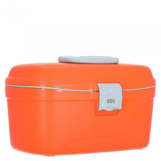Roncato Beauty Kuferek podróżny kosmetyczka pomarańczowa